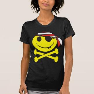 Pirata sonriente 02 camiseta