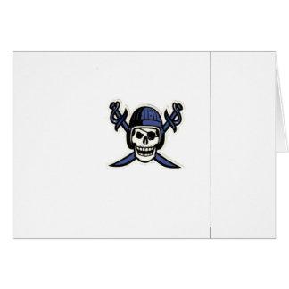 Piratas de Jmfa debajo de 8 Tarjeta De Felicitación