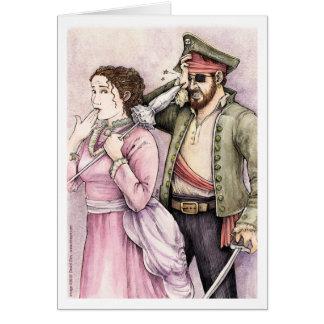 Piratas de la tarjeta de Penzance