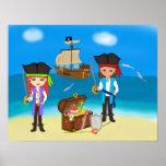 Piratas de la zona de influencia póster
