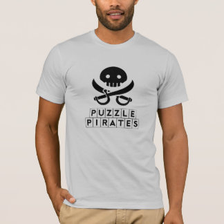 Piratas del rompecabezas camiseta