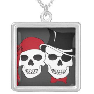 piratas en amor colgante cuadrado
