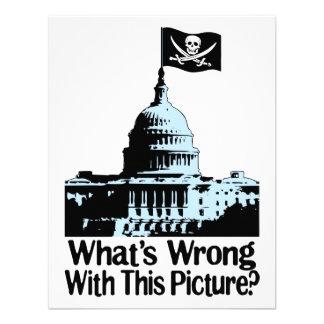 Piratas en congreso invitacion personalizada