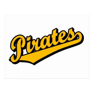Piratas en naranja postal