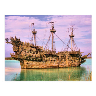 Piratas náufragos de la isleta del Caribe Postal