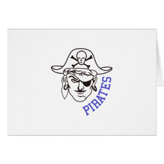 Piratas Tarjeta De Felicitación