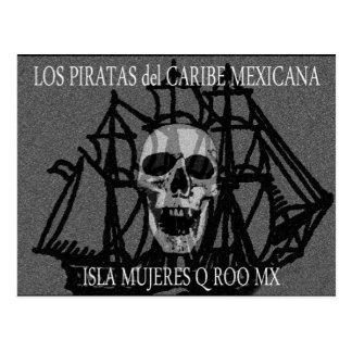 PiratasDelCaribeMexicana Postal