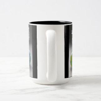 Pisapapeles del caballo del vintage de la taza de café de dos colores