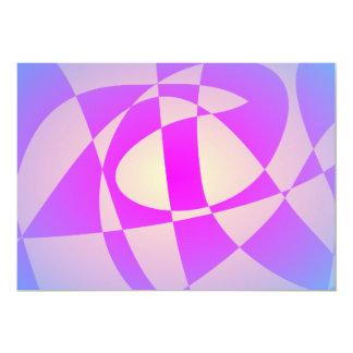 Piscina de la sol invitación 12,7 x 17,8 cm