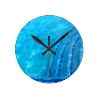 Relojes de pared piscina for Reloj piscina