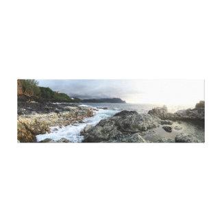 Piscinas de la marea de Kauai Lienzo