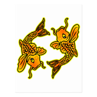 Piscis los pescados #025 postal