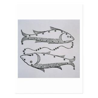 Piscis (los pescados) un ejemplo del 'poeta tarjetas postales