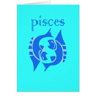 Piscis Tarjeta De Felicitación