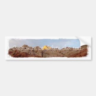 Piso del desierto al techo; Personalizable Pegatina Para Coche