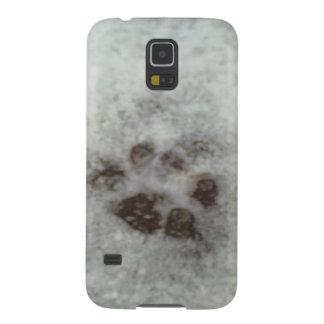 Pistas animales en la nieve funda para galaxy s5