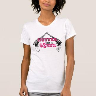 Pistola 2$ camisetas