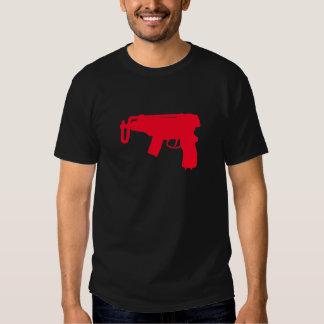 Pistola de máquina camisetas