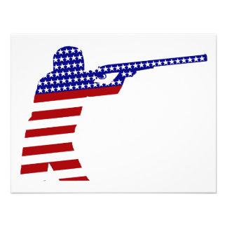 Pistola del rifle de los E E U U - competidor del