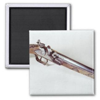 Pistola que pertenece a Abd EL-Kader Imán Cuadrado