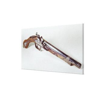 Pistola que pertenece a Abd EL-Kader Impresiones De Lienzo