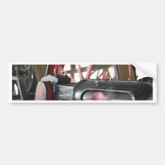 Pistón del motor de vapor pegatina para coche