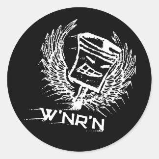 Pistón del vuelo de W nR n Etiqueta