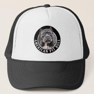 Pitbull americano 002 gorra de camionero