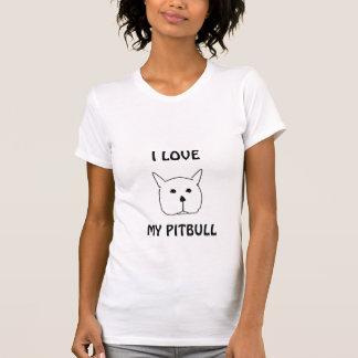 Pitbull, AMO, MI PITBULL Camiseta