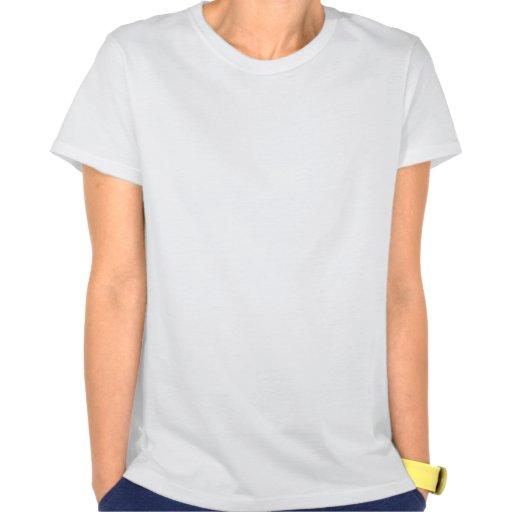 Pitbull azul con los vidrios camiseta