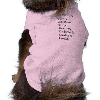 """Pitbull """"Benz"""" de las cercas para el SUÉTER del PE Camisa De Perro"""