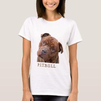 """Pitbull """"Benz"""" de las cercas para los artículos Camiseta"""