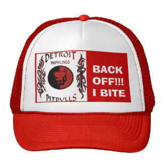 pitbull de Detroit Gorra