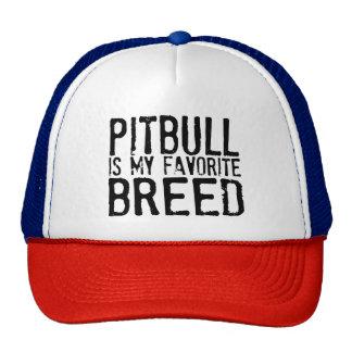 PITBULL es mi raza preferida Gorra