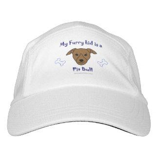 pitbull gorra de alto rendimiento