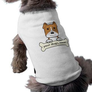 Pitbull personalizado camisa de mascota
