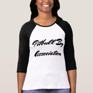 Pitbull por la asociación camiseta