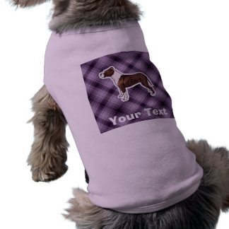 Pitbull púrpura ropa de perros