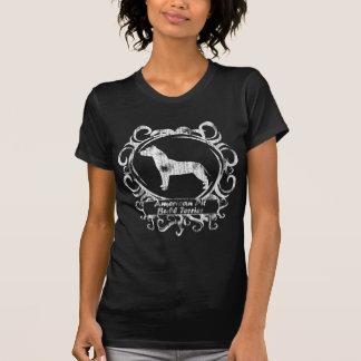 Pitbull Terrier americano resistido con clase Camiseta