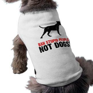 Pitbull Terrier americano Camiseta De Perro
