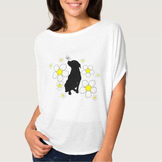 Pitbull y camisa para mujer del verano de las