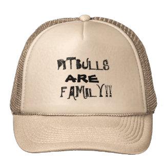 PITBULLS SON gorra del camionero de la FAMILIA