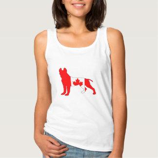 Pitt bull terrier camiseta con tirantes