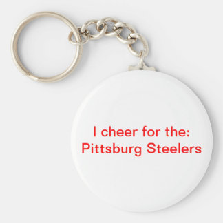 Pittsburg Steelers Llavero Redondo Tipo Chapa