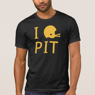 Pittsburgh - amarillo camiseta