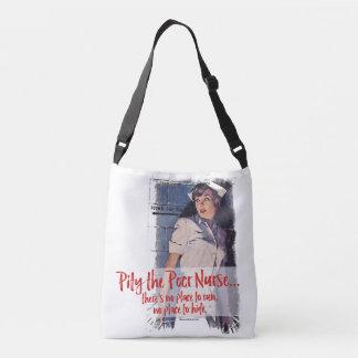 Pity a la enfermera pobre bolsa cruzada