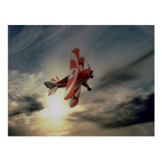 Pitz especial, avión aeroacrobacia del solo postal
