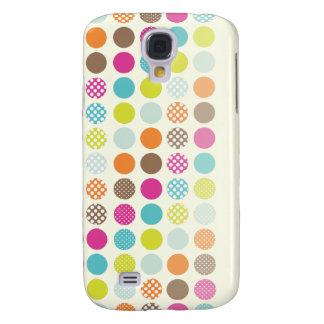 PixDezines Polkadots retro, ♥♥♥♥ de encargo del Samsung Galaxy S4 Cover