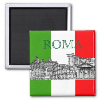 PixDezines regalos del recuerdo del viaje de Roma, Imanes