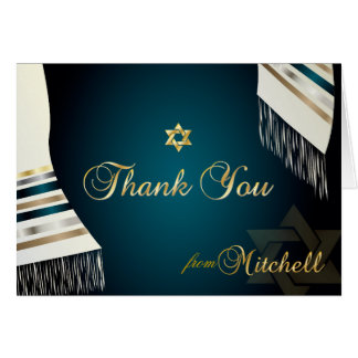 PixDezines Tallit Mitzvah agradece color de Tarjeta Pequeña